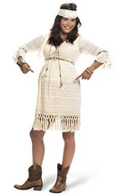 Das Hippie-Kostüm für Schwangere bestellen