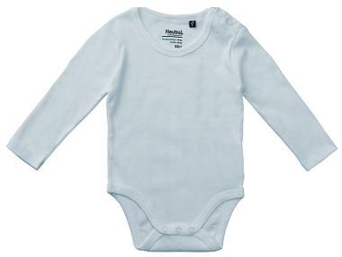 Den Baby-Langarm-Body in verschiedenen Farben von - Neutral - bestellen