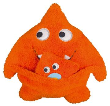 Das Monster-Kissen mit Monster-Baby von s. Oliver bestellen