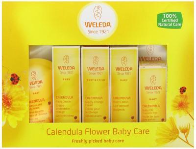 Das Weleda Organic MIni Calendula Starterkit bestellen