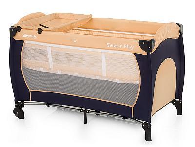 Das mobile Babybett mit Wickelaufsatz von Hauck bestellen