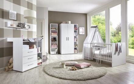 Das Babyzimmer-Komplett-Set KIM in verschiedenen Varianten bestellen