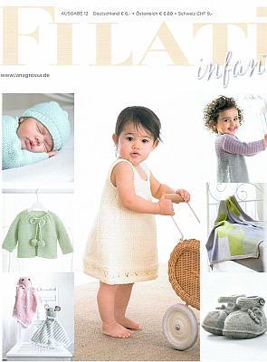 Lana Grossa Filati Kids & Babys 12 Strickzeitschrift mit Strickanleitungen