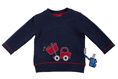 Das süße, blaue Jungen-Sweatshirt von sigikid bestellen