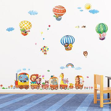 Die schönen Wand-Tattoos für das Kinderzimmer von Decowall bestellen