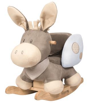 Das kuschelige Schaukeltier - Esel Cappuccino von Nattou - bestellen