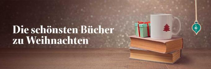 Die schönsten Bücher als Weihnachtsgeschenk