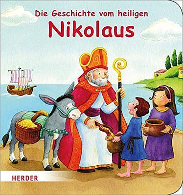 Das Kinderbuch - Die Geschichte vom heiligen Nikolaus - bestellen