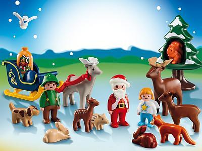 Den Playmobil-Adventskalender Waldweihnacht bestellen