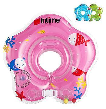 Den Babyschwimmring in Pink, Grün oder Blau bestellen