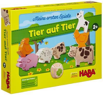 Das Spiel - Tier auf Tier - von HABA bestellen