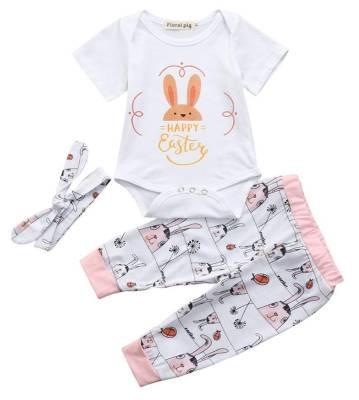 Das Baby-Outfit zu Ostern mit Kaninchen bestellen