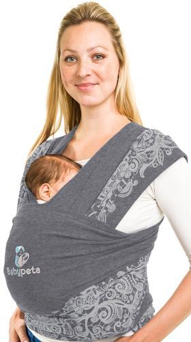 Das Babytragetuch von BABYPETA in Grau bestellen