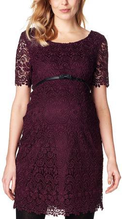 Das festliche Umstandskleid in Violett von ESPRIT bestellen