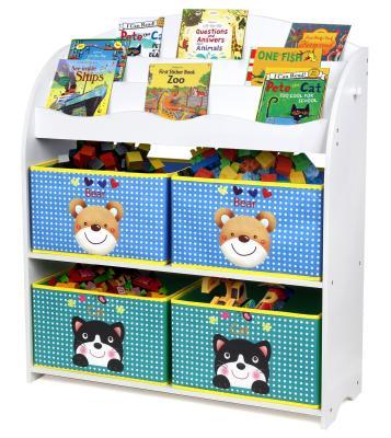 Das praktische Kinder-Spielzeugregal bestellen