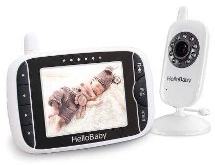 Das komfortable Video-Babyphone von HelloBaby bestellen