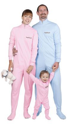 Den Gaggohaas Füsslipyjama - Schlafanzug mit Füssen aus Baumwolle kaufen