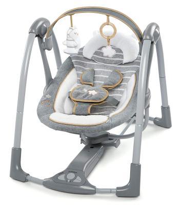 Die 2-in-1-Babyschaukel Bella Teddy von Ingenuity bestellen