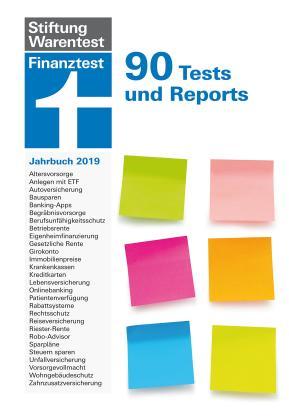Das Buch Finanztest Jahrbuch 2019 bestellen