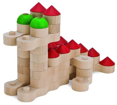 Die Holz-Ketten-Bausteine von HEROS bestellen