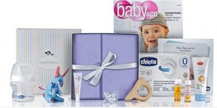 mamibox Überraschung und Warenproben für Mutter und Baby