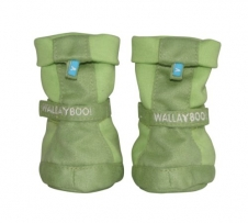 Wallaboo WBO-SHOE506-LIME - Babyschuhe Nr 5, 0-6m lily green