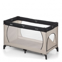 Hauck 603673 Reisebett Dream'n Play Plus 60x120 cm beige/grey
