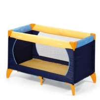 Hauck 604038 Reisebett Dream'n Play 60x120 cm yellow/blue/navy