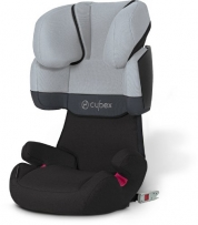 Cybex 512116007 Solution X-Fix Autositz Gruppe II, III, cobblestone grey