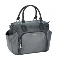 Lässig 1101008200 Wickeltasche Gold Label Avenue Bag, grau